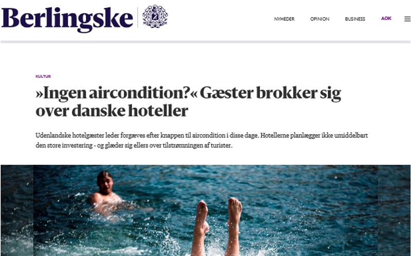 ingen aircondition, hotel, brok